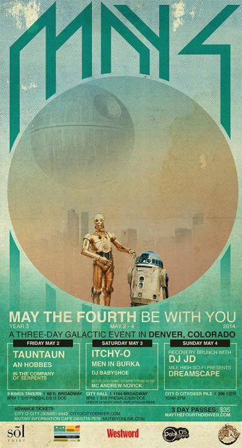 May the 4th Be With You, 2014