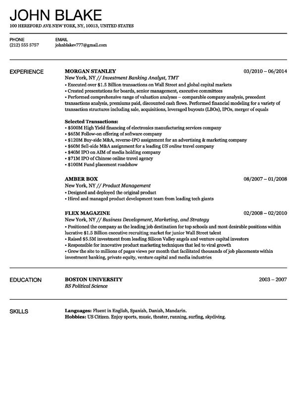 The Best Free Resume Builder  Resume Examples And Free Resume Builder