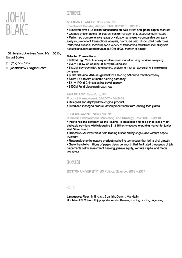 30 Resume Templates Download Make Your Resume Instantly Velvet Jobs - Make Your Resume