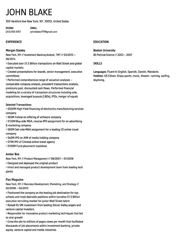 free resume template builder download
