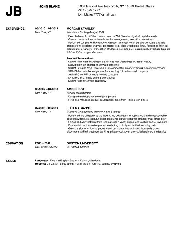 resume for jobs builder