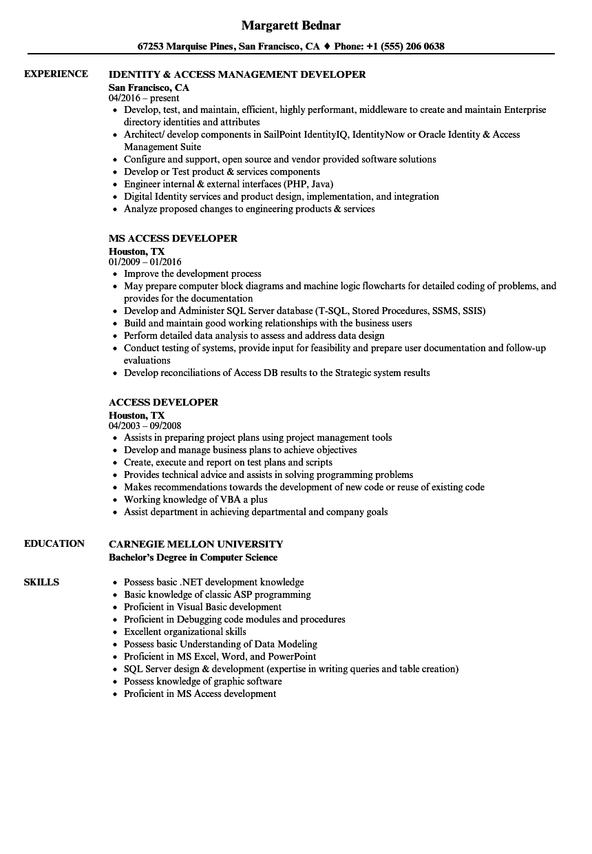 how to build good resume sample