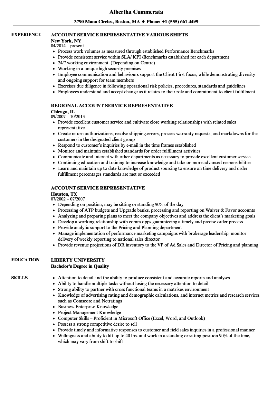 customer service sales skills sample resume