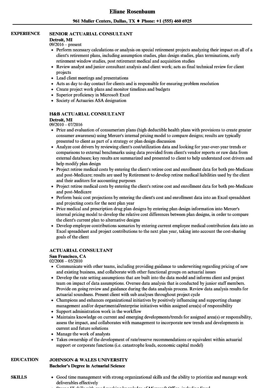 sample resume mercer