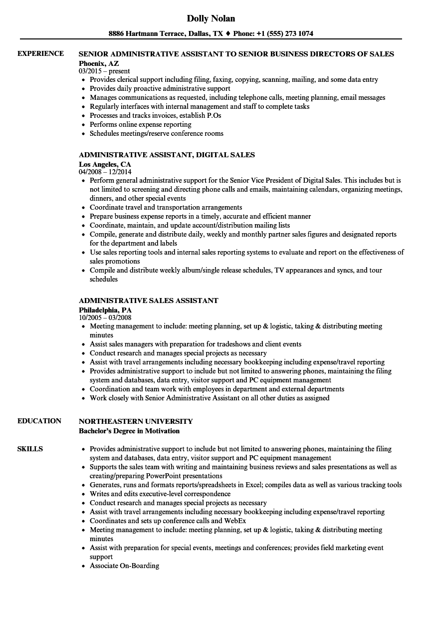 transportation sales resume examples