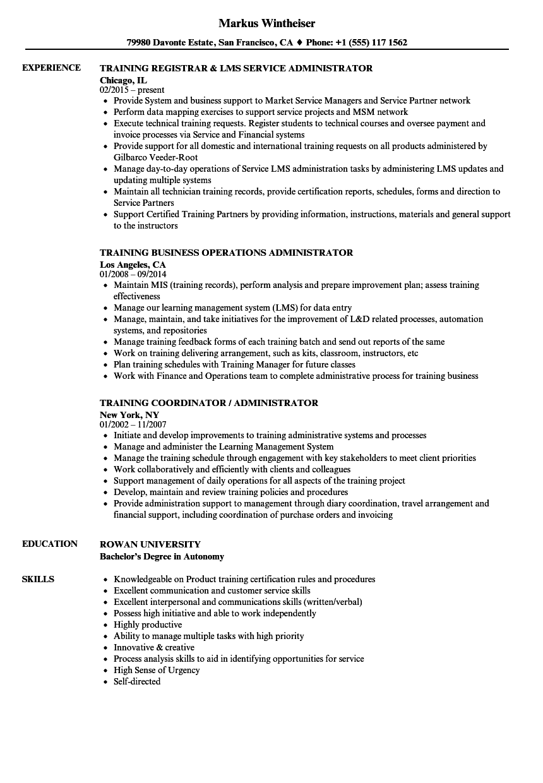 sample resume high stress environment