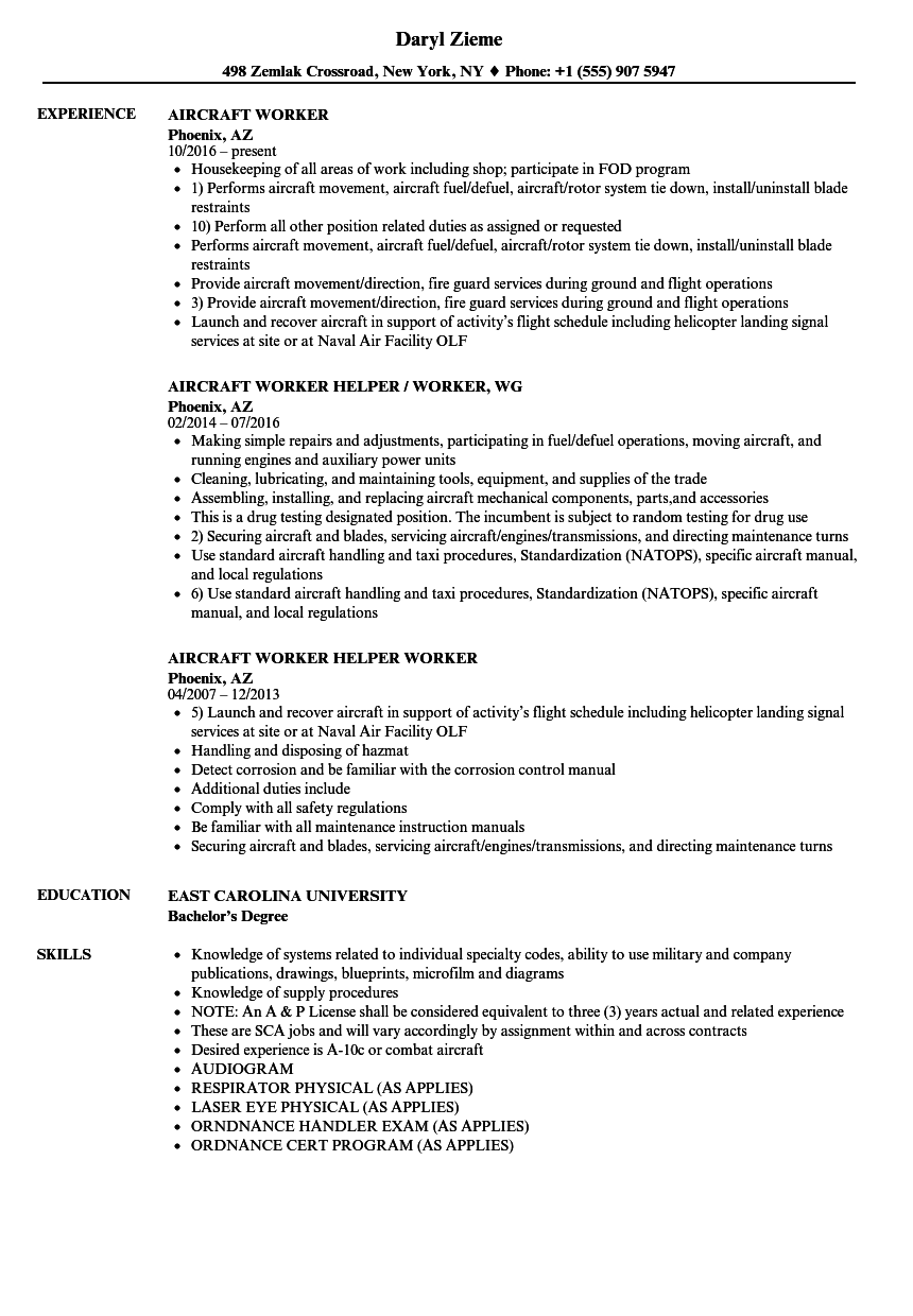 aircraft dispatcher resume sample