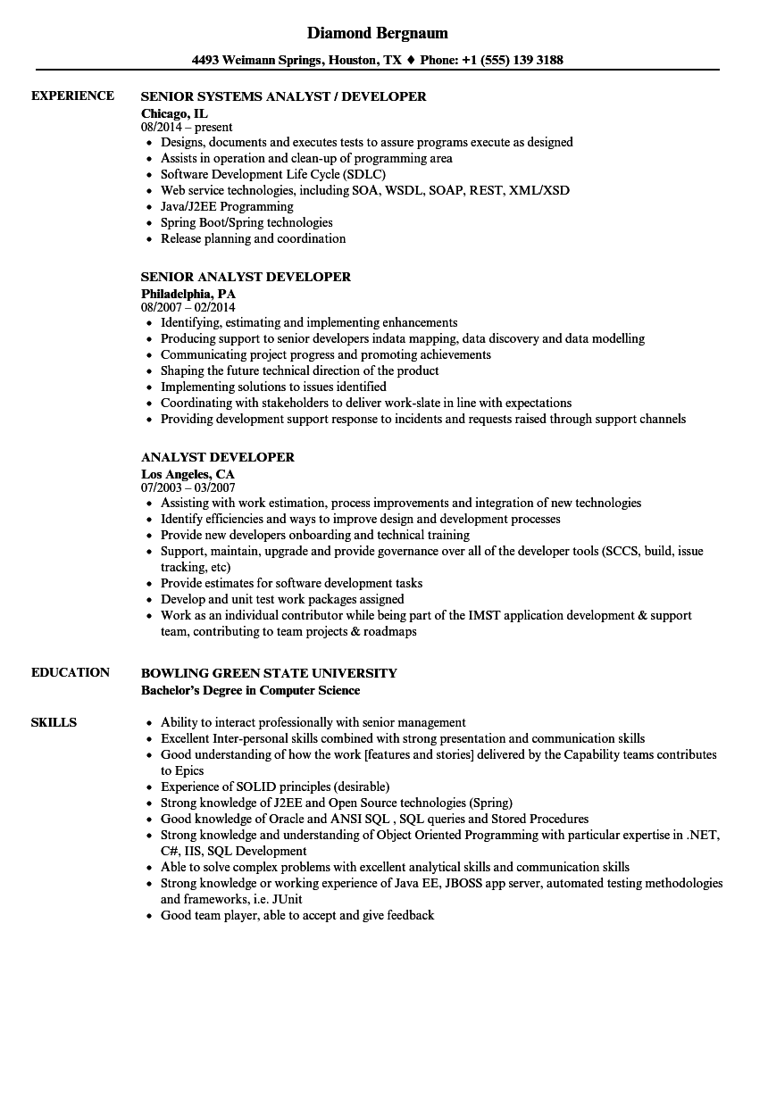 sample resume with soap rest