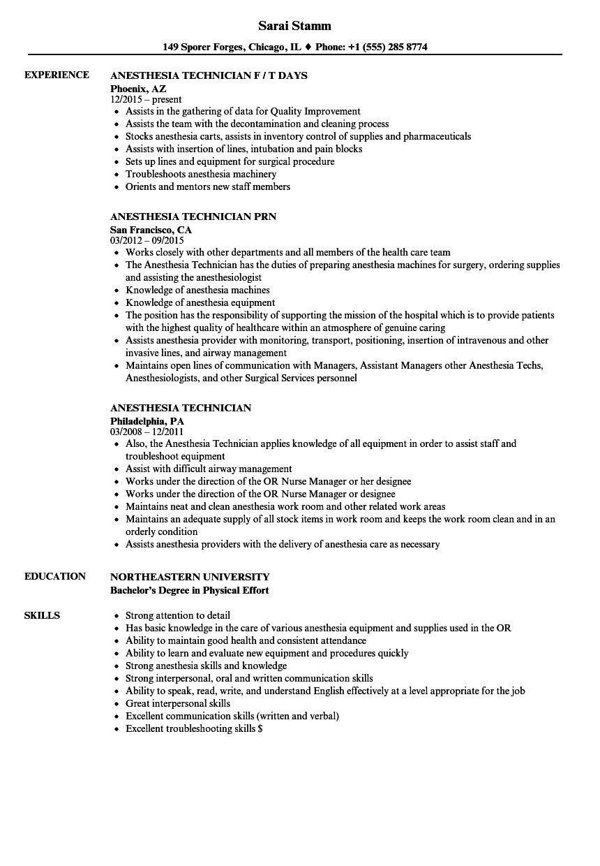 quality technician resume