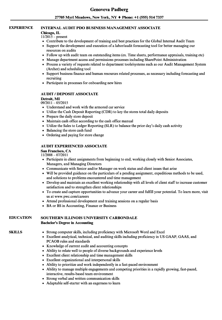 resume experience sarbanes oxley compliance sample