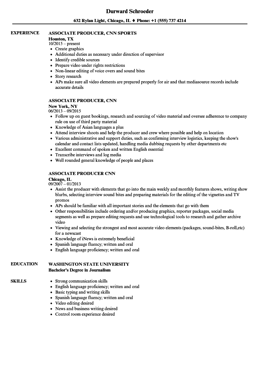 sample resume with 1 2 years experience
