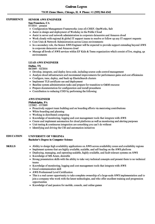 sample resume for cloud computing pdf