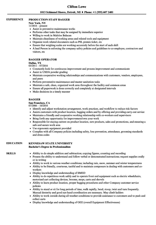 boutique resume sample