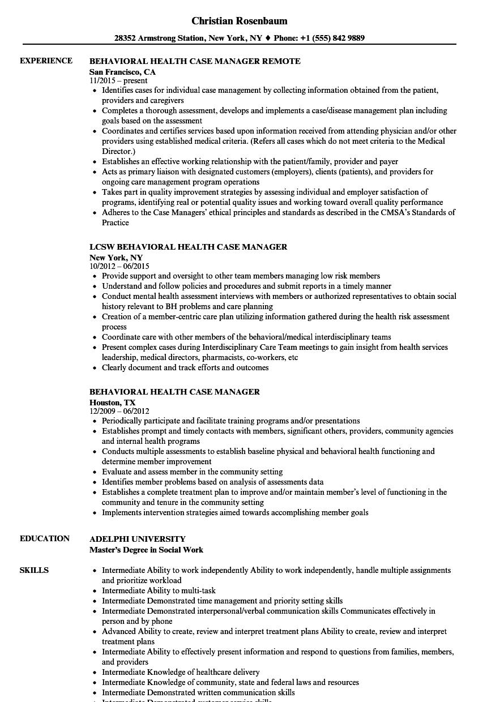 lmhc resume example