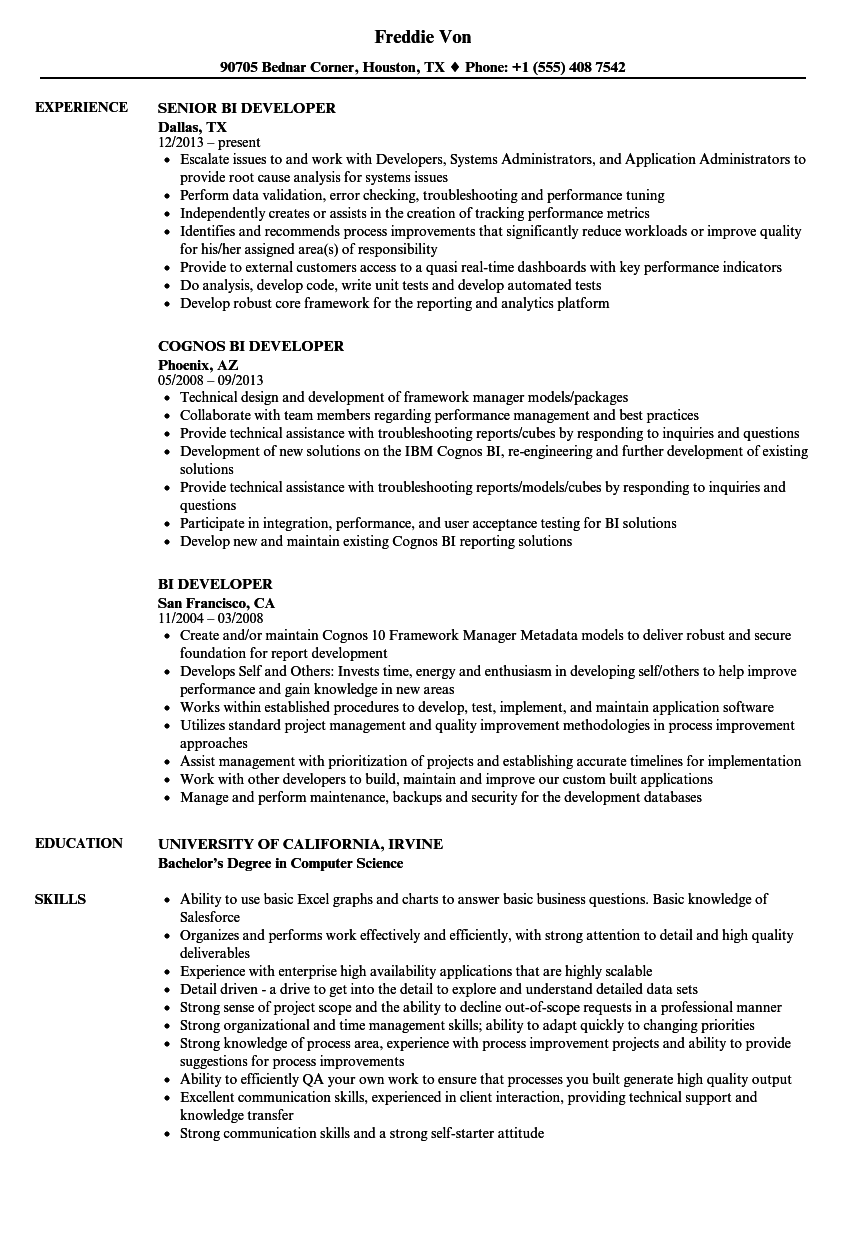 pyspark resume examples