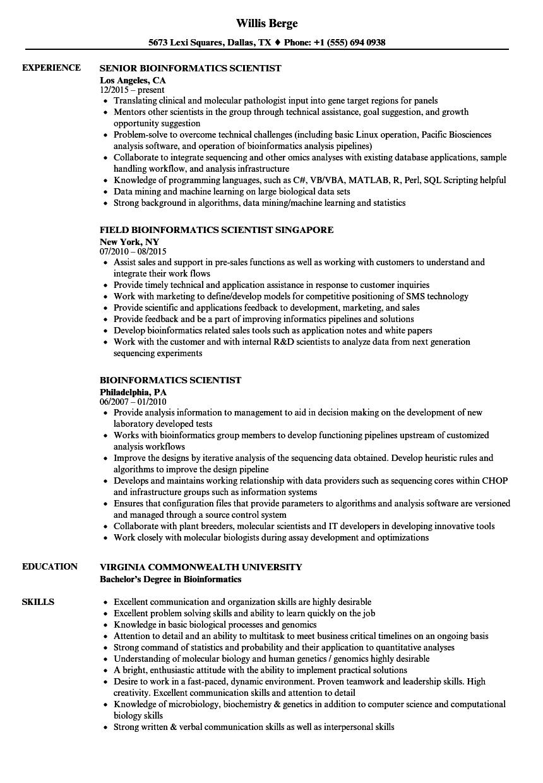 resume software linux