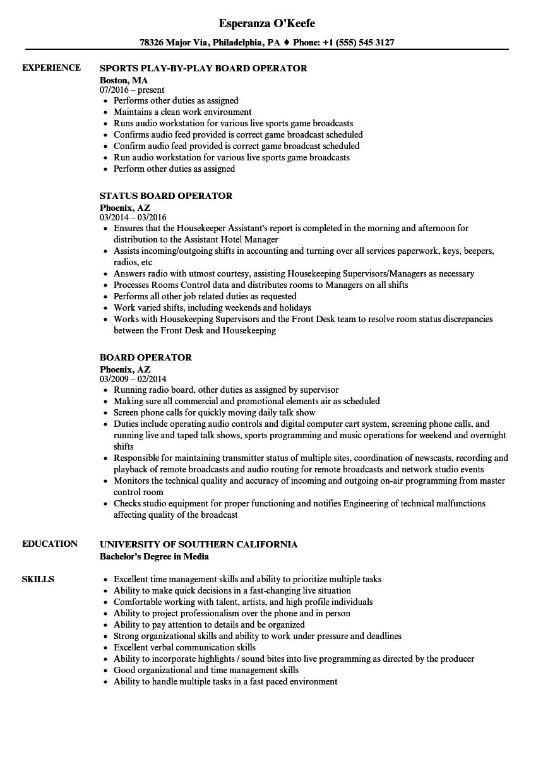 operation resume