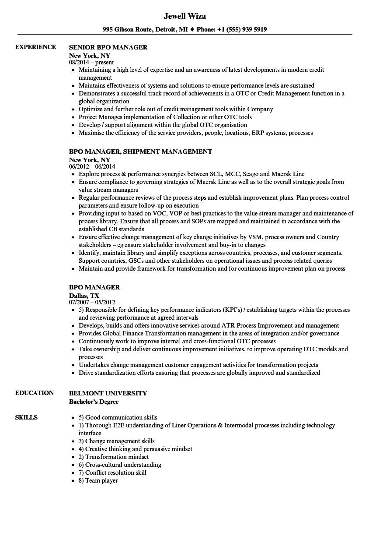 bd resume sample