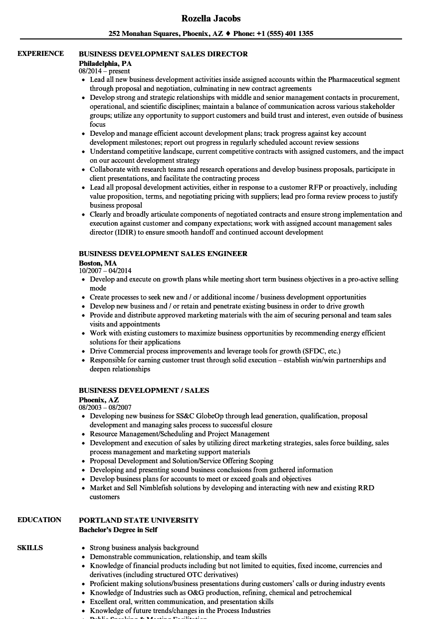 craft business resume example