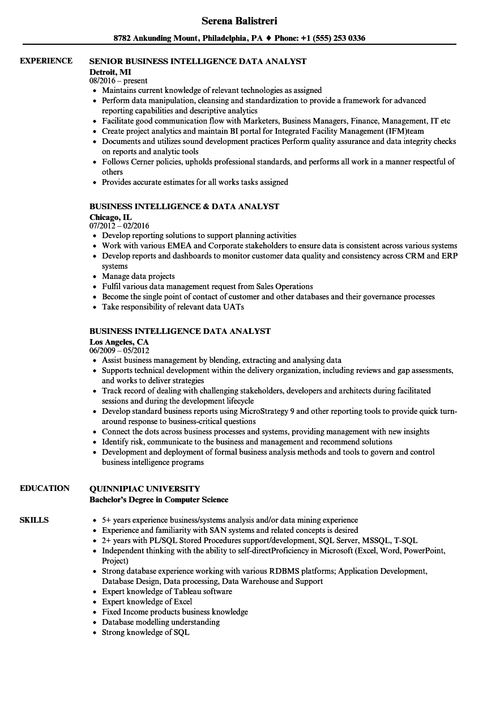 alteryx sample resume