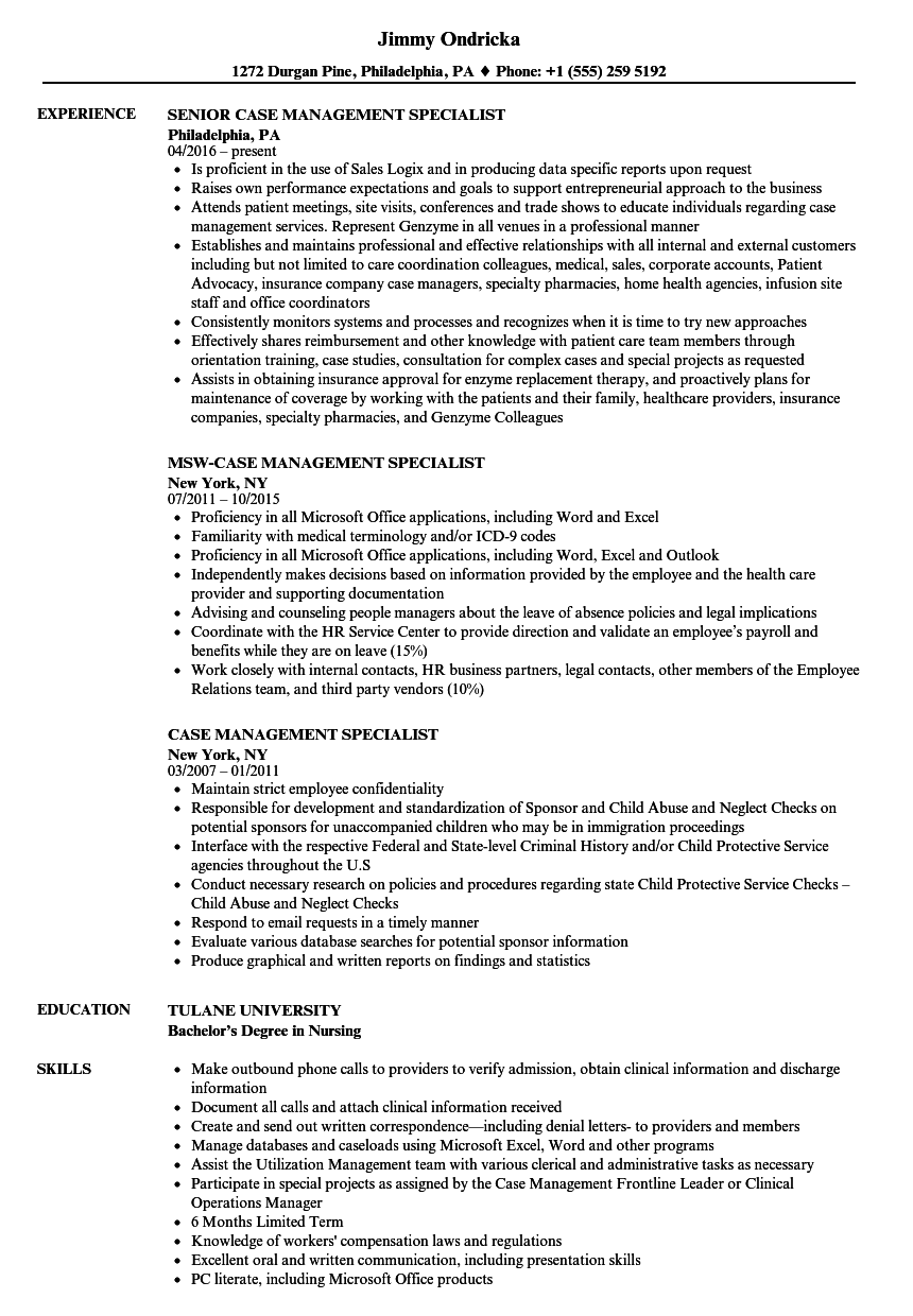 sample human resources management resume