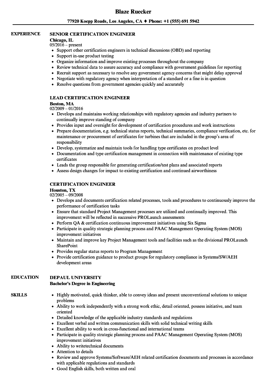 csa resume sample
