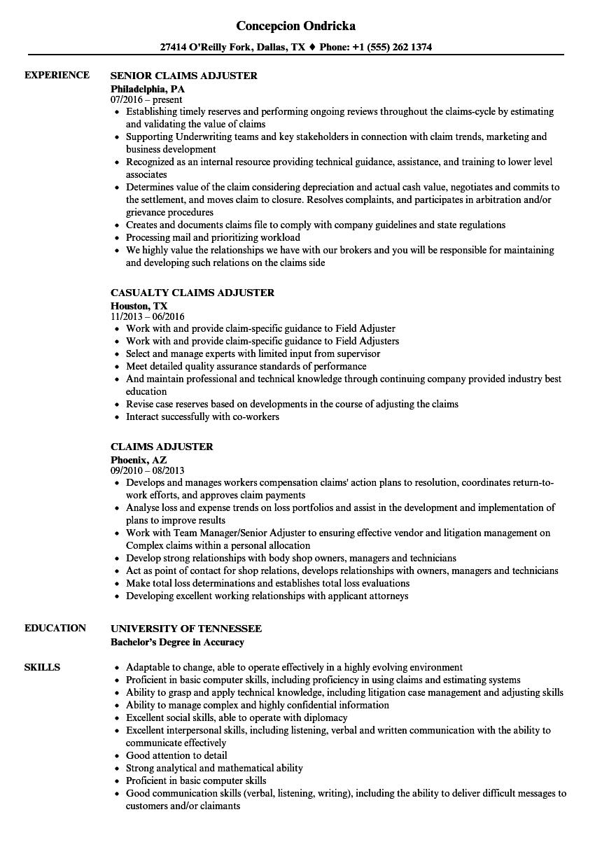 timberline sample resume