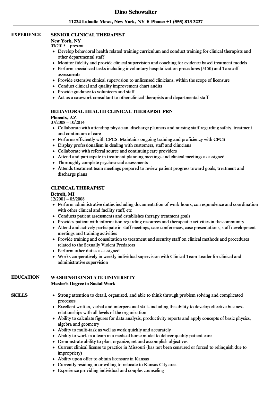senior respiratory therapist resume sample