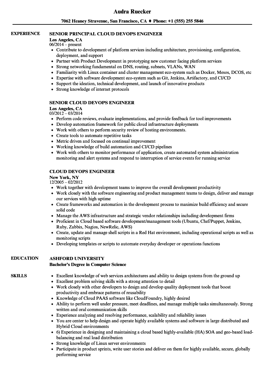 puppet resume sample