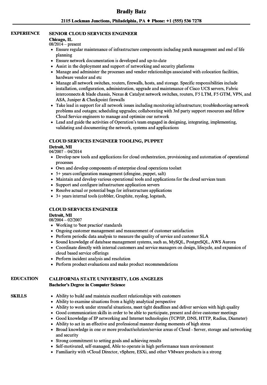 sample resume on f5