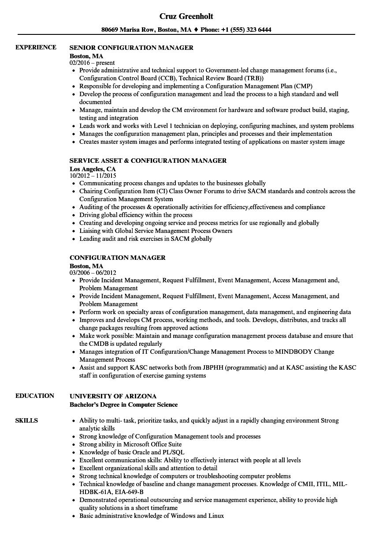 resume database management system