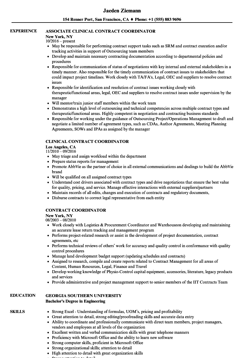resume skills examples attention to detail
