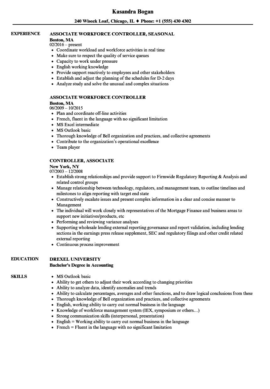 drexel resume sample