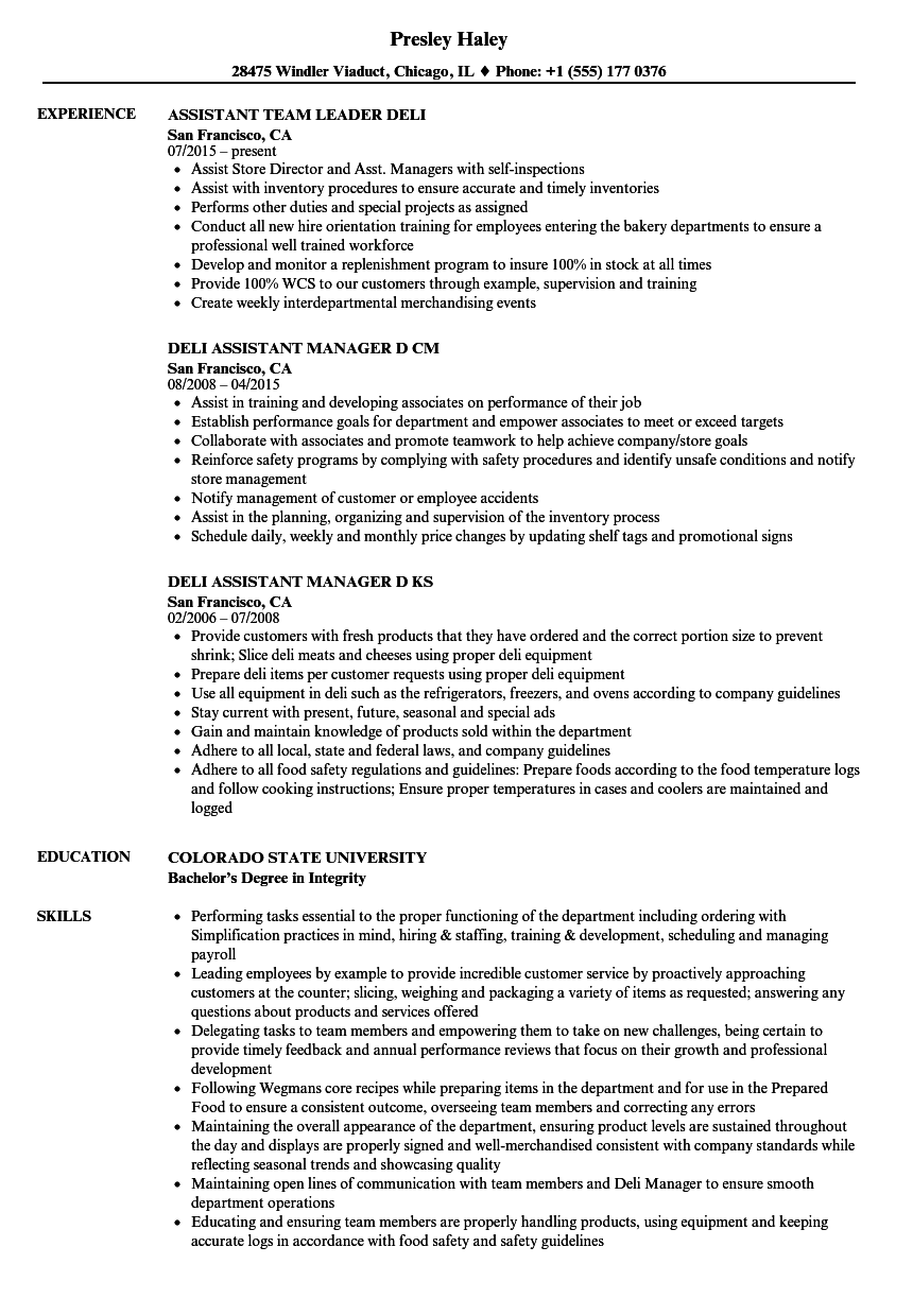 shop assistant resume sample