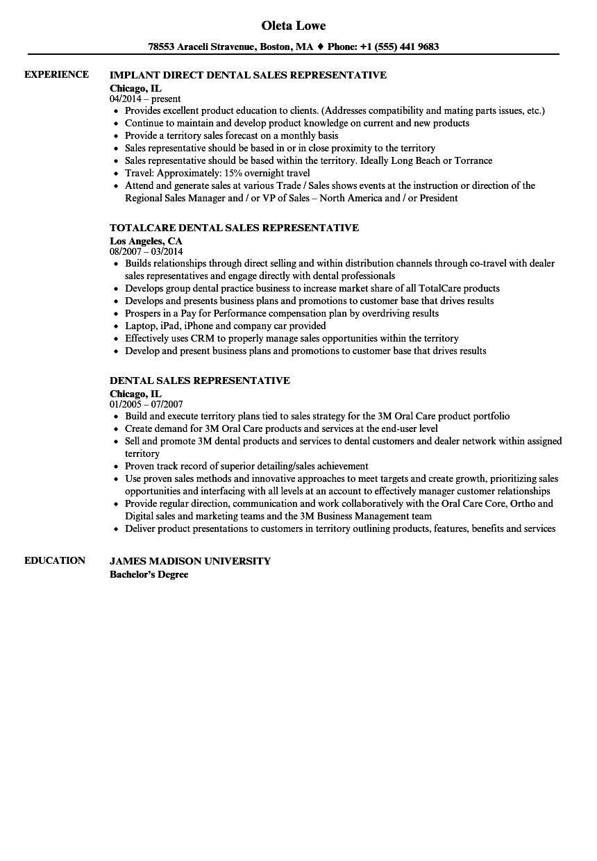 sample resume for junior sales representative