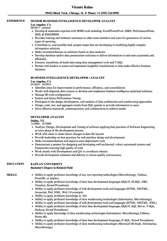 xml developer resume samples