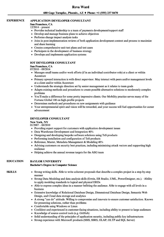 data warehouse consultant resume sample