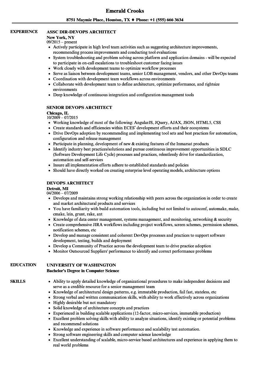 sample microservices resume