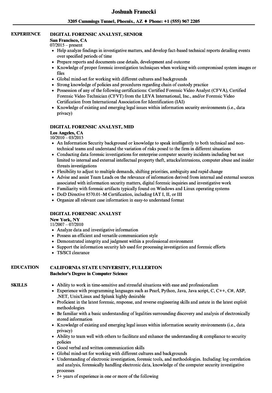 green card resume sample
