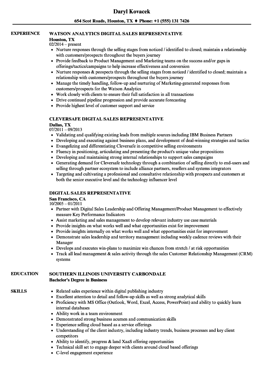 outbound sales resume sample