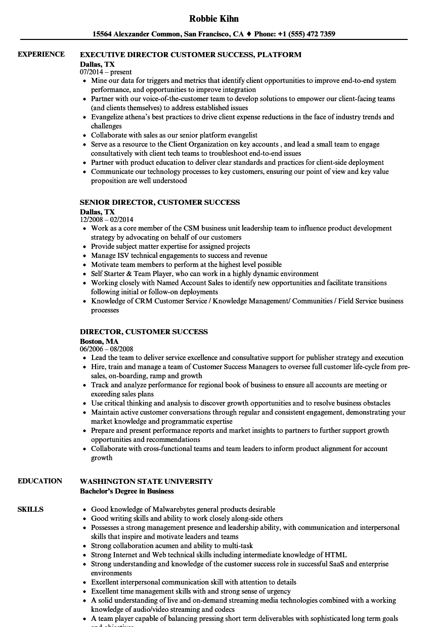 2019 trends customer service team lead resume examples