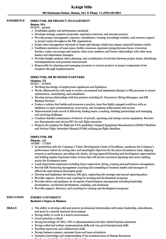 successfactors sample resume