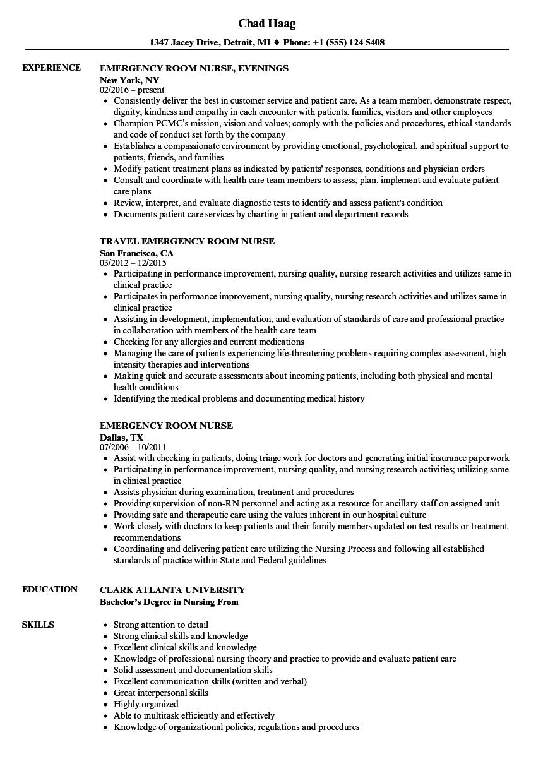 sample resume for adult med surg nurse