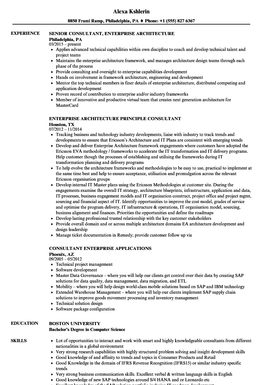 ax functional consultant resume sample