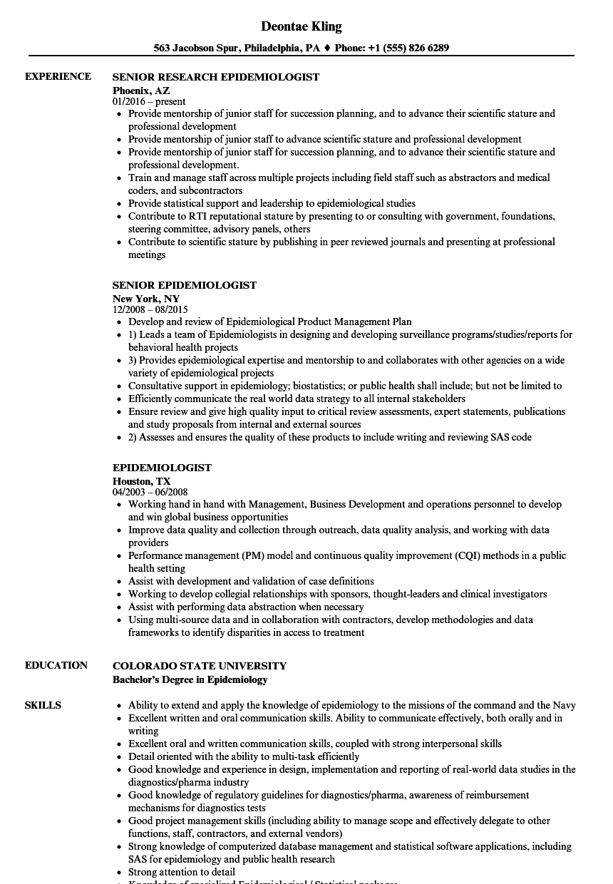 sample resume for access control