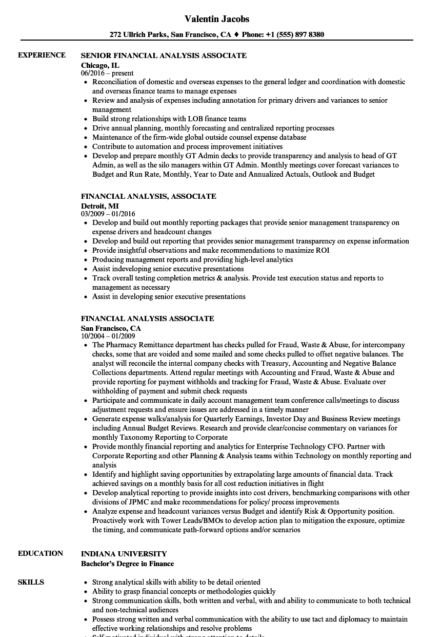 resume guidance