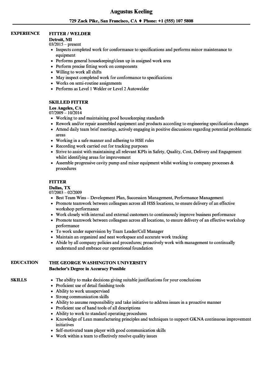assembly resume sample