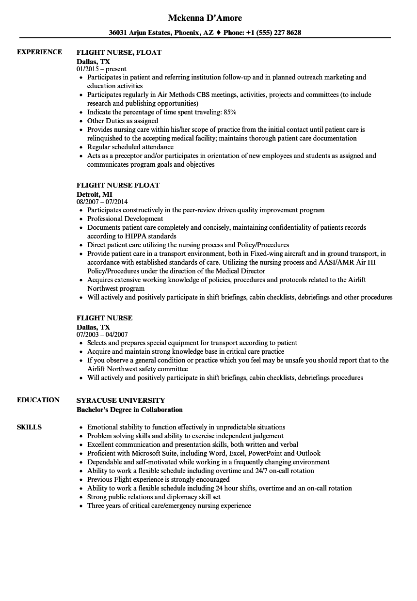 resume examples for first jobs