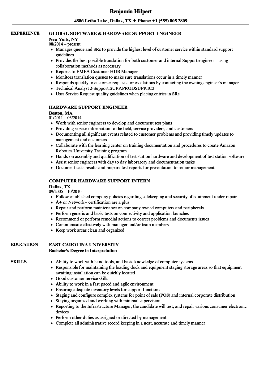 fast paced environment resume