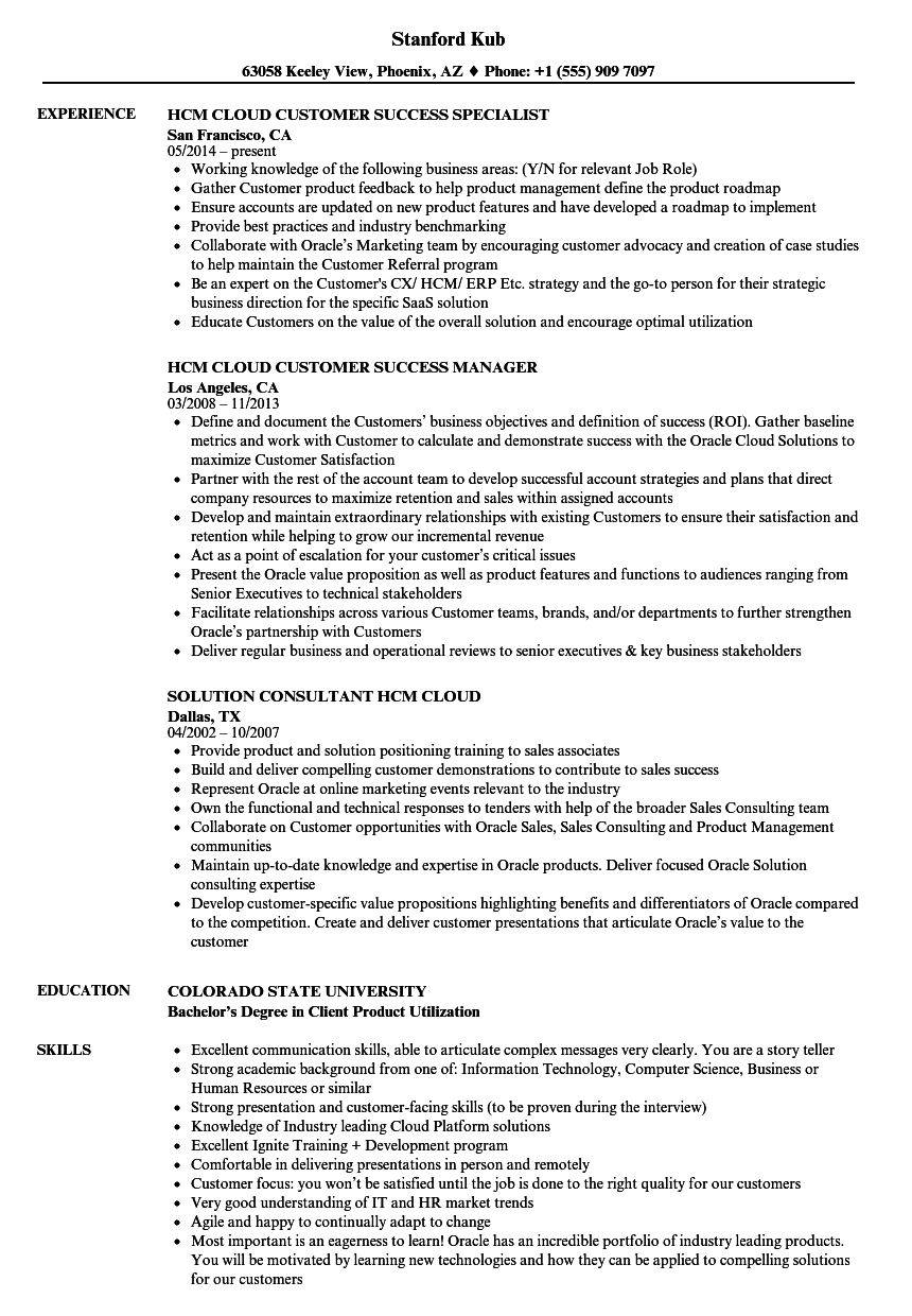 cloud administrator resume sample